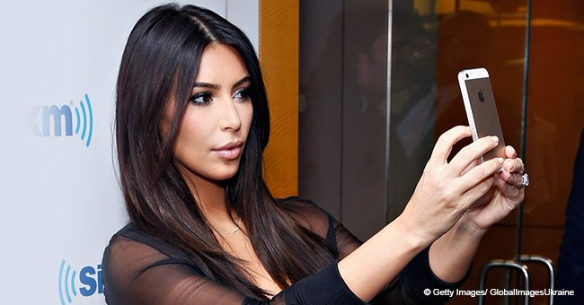 Kim Kardashian Surprises Fans with No-Makeup Morning Selfie Showing Her Face Covered in Psoriasis