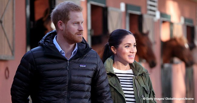 Meghan Markle Reverts to Casual Clothes to Visit an Equestrian Club, Shares PDA Moment with Harry