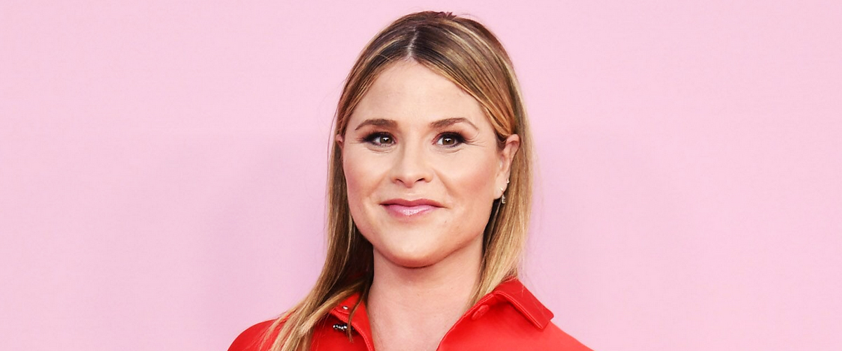 Jenna Bush Hager's Newborn Son Hal Sleeps between His Little Sisters in a New Photo