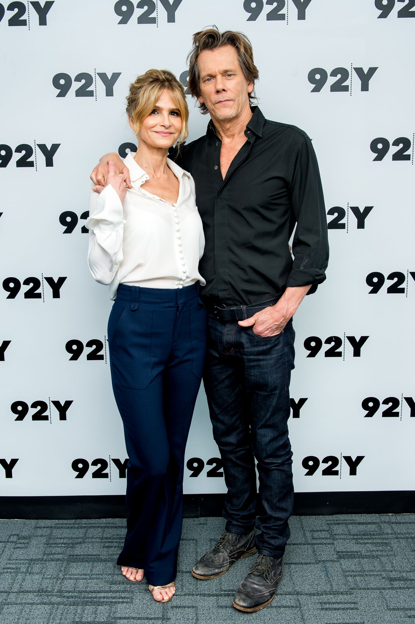 Kyra Sedgwick and Kevin Bacon attend In Conversation at 92nd Street Y | Getty Images / Global Images Ukraine