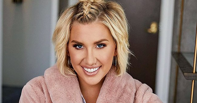 Savannah Chrisley Looks Gorgeous in a Sultry Black and White Image She Shared on Instagram