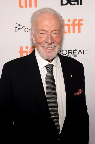 "Christopher Plummer attends the ""Knives Out"" premiere during the 2019 Toronto International Film Festival on September 07, 2019 