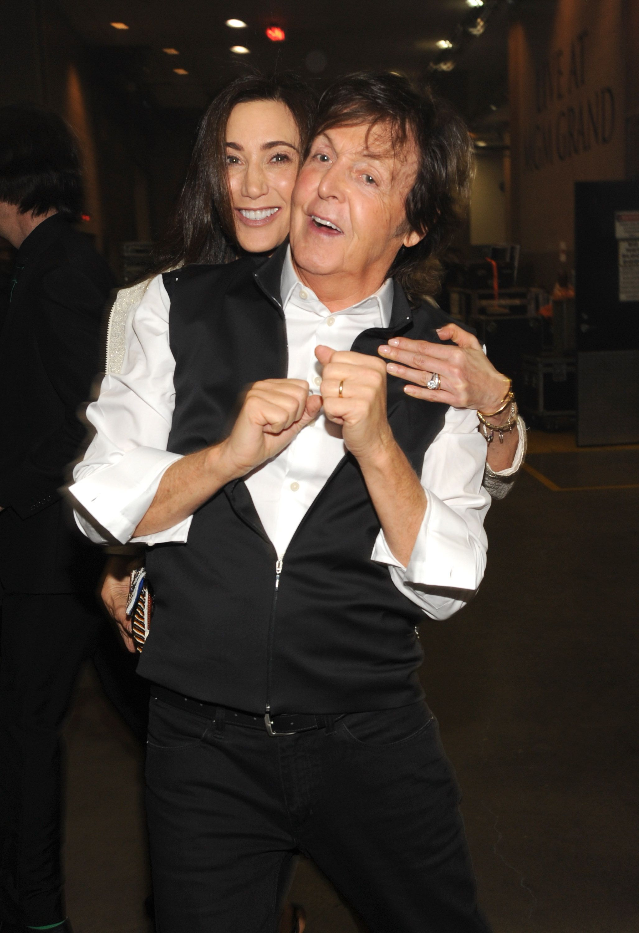 Nancy Shevell and Paul McCartney at the iHeartRadio Music Festival on September 20, 2013, in Las Vegas, Nevada | Photo: Kevin Mazur/Getty Images