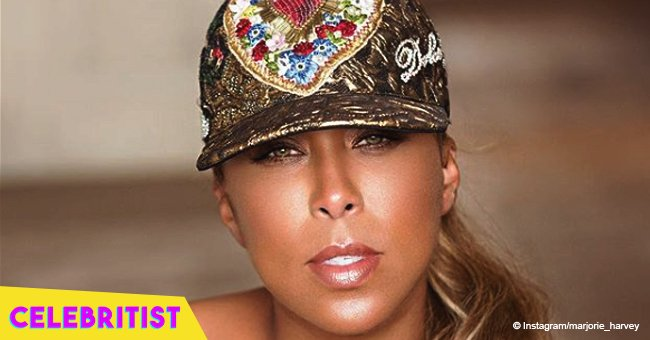 Marjorie Harvey fires back at critics who mocked her for not buying her parents 'bigger' house