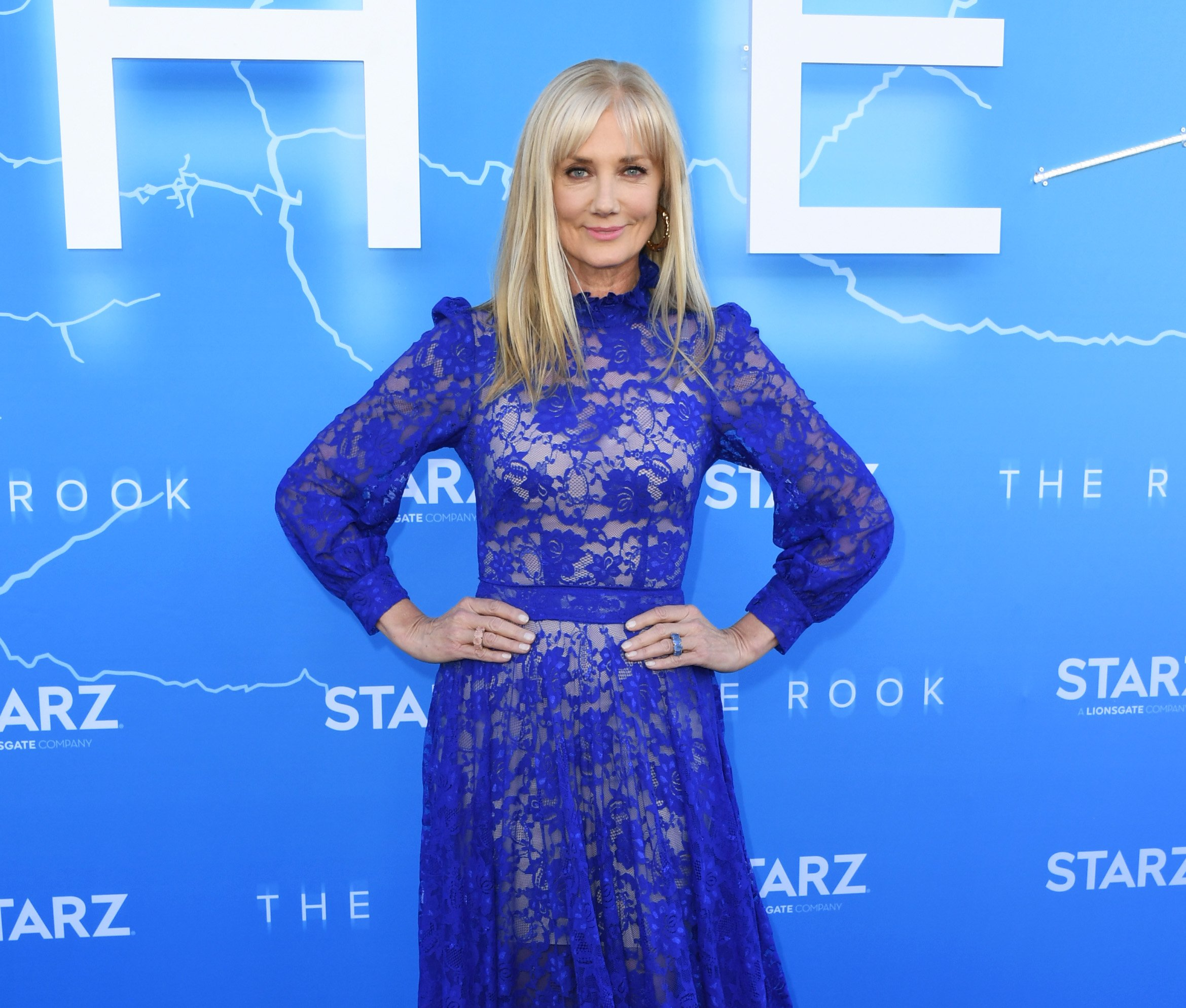 """Joely Richardson attends LA Premiere Of Starz's """"The Rook"""" at The Getty Museum on June 17, 2019, in Los Angeles, California. 