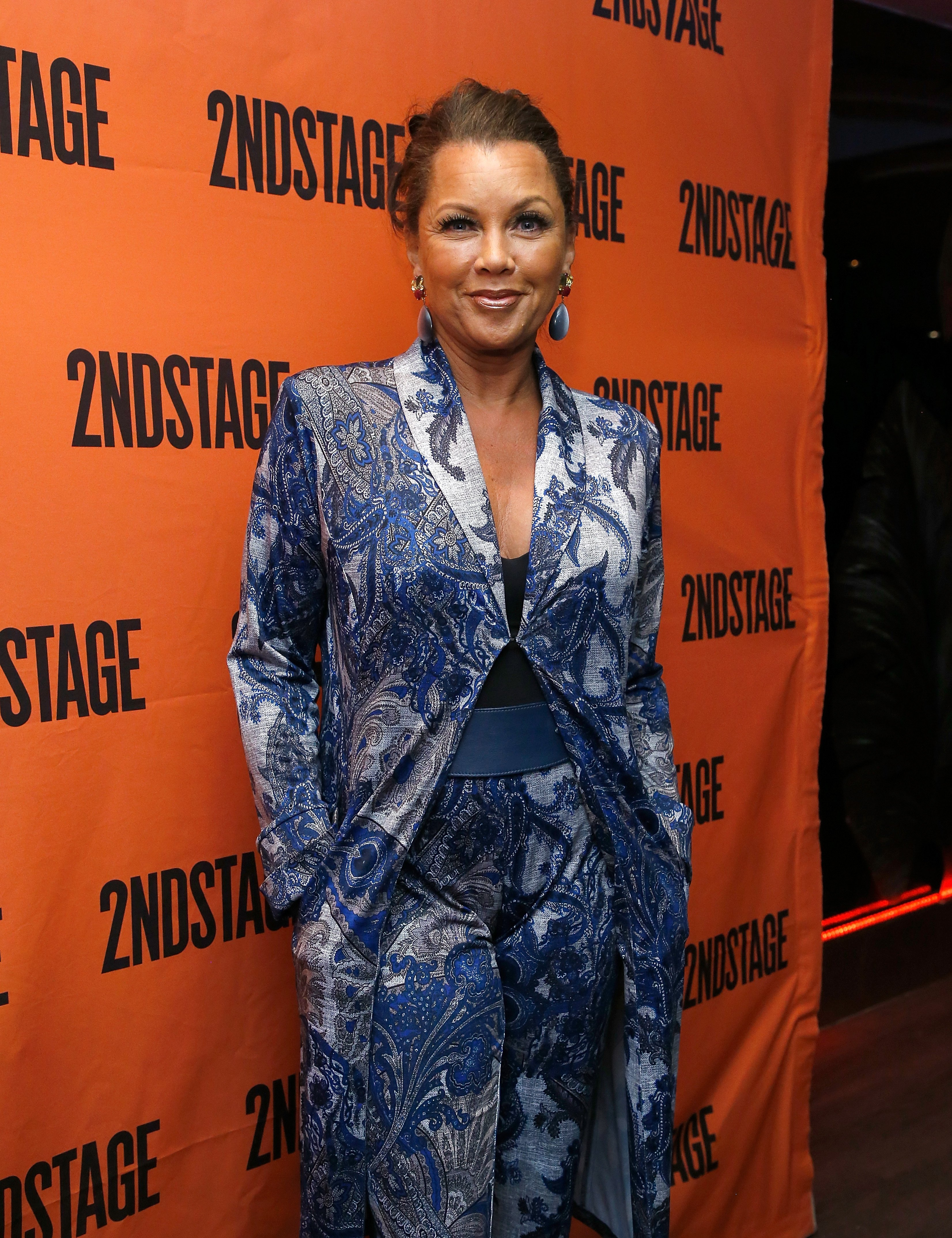 """Vanessa L. Williams attends """"Torch Song"""" Off-Broadway Opening Night - Party at Copacabana on October 19, 2017, in New York City. 