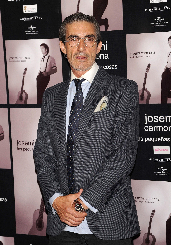 Micky Molina asiste al concierto de Josemí Carmona en el Teatro Haagen-Dazs en mayo de 2011 en Madrid || Fuente: Getty Images