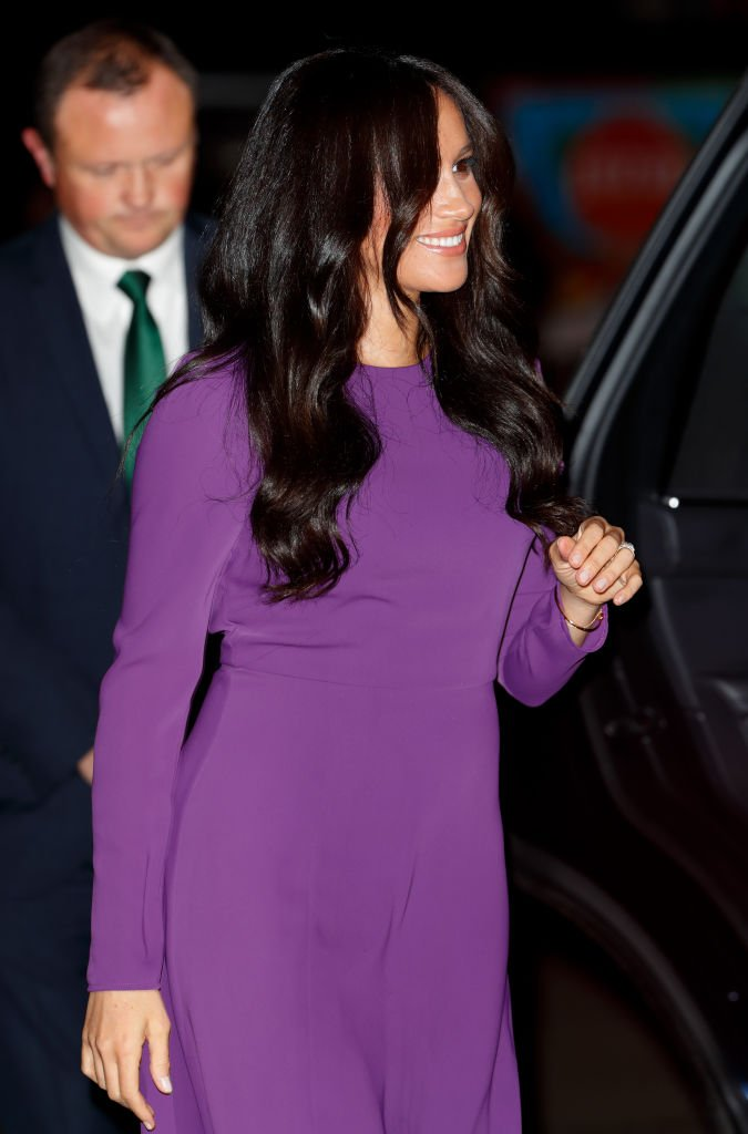 Meghan Markle assiste à la cérémonie d'ouverture du One Young World Summit au Royal Albert Hall. | Photo: Getty Images