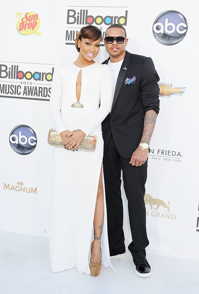 Monica and Shannon Brown at the 2012 Billboard Music Awards at the MGM Grand Garden Arena on May 20, 2012 in Las Vegas, Nevada.   Photo: Getty Images