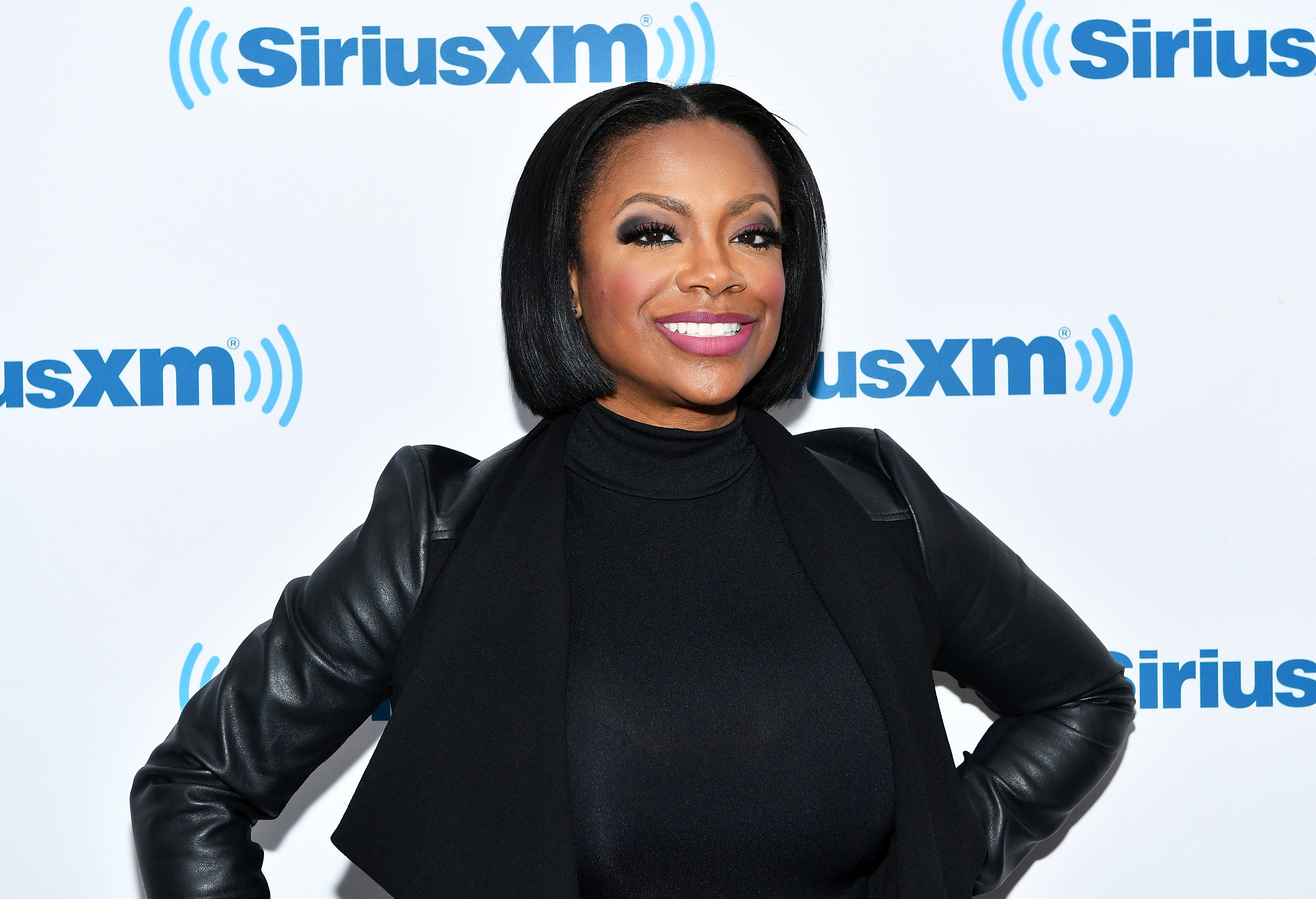 Kandi Burruss visiting the SiriusXM Studios in March 2018. | Photo: Getty Images