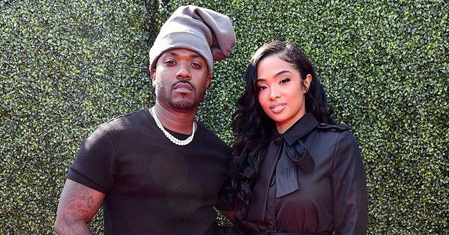 Ray J's Wife Princess Love Shares Adorable Photo of Baby Son Epik Resting on Her Shoulder