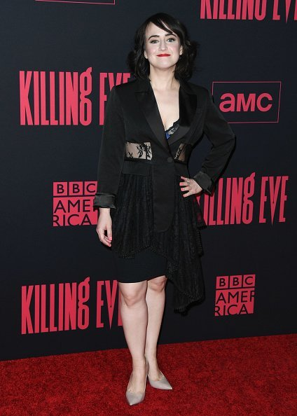 """Mara Wilson attends the premiere of BBC America And AMC's """"Killing Eve"""" Season 2 