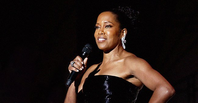 Regina King, 50, Exudes Elegance Wearing a Strapless Black Ball Gown at the Cannes AmfAR Gala