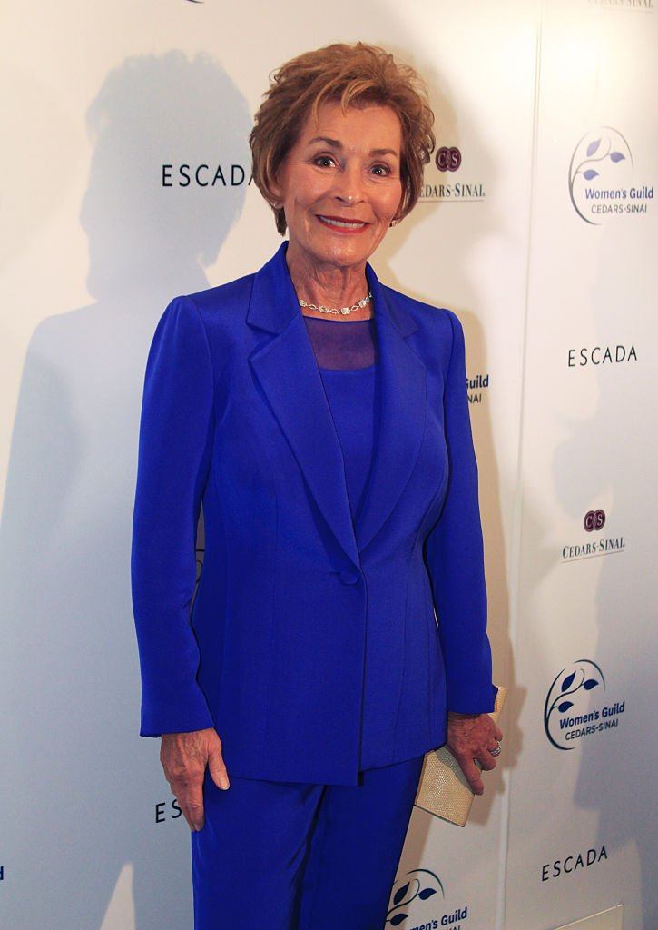 Judge Judy (Judy Sheindlin) attends the Women's Guild Cedars-Sinai's Annual Luncheon at Regent Beverly Wilshire Hotel on April 13, 2015 in Beverly Hills, California   Photo: Getty Images