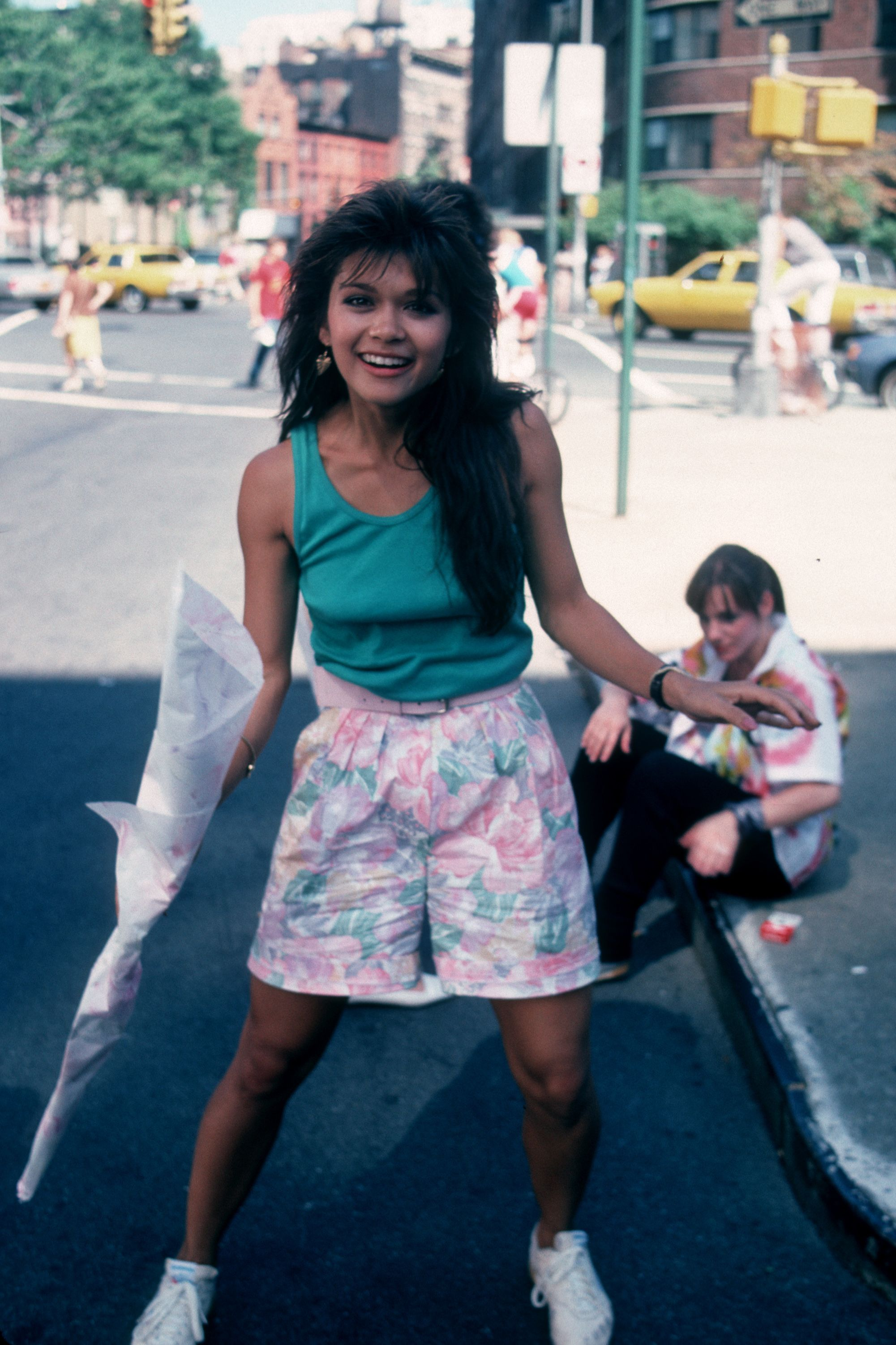 Nia Peeples attending the taping of 'Fame' on July 23, 1985 in New York City, New York. | Source: Getty Images