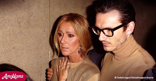 Céline Dion ne peut pas retenir ses larmes tandis qu'elle assiste à un défilé de mode avec son jeune compagnon