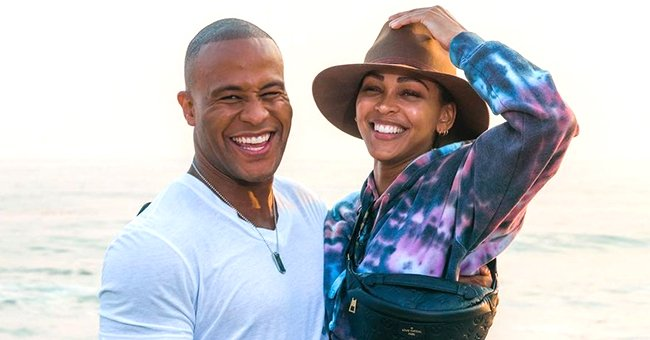 DeVon Franklin's Wife Meagan Good Wows Followers with Her Tiny Waist & Bob Haircut in New Pics
