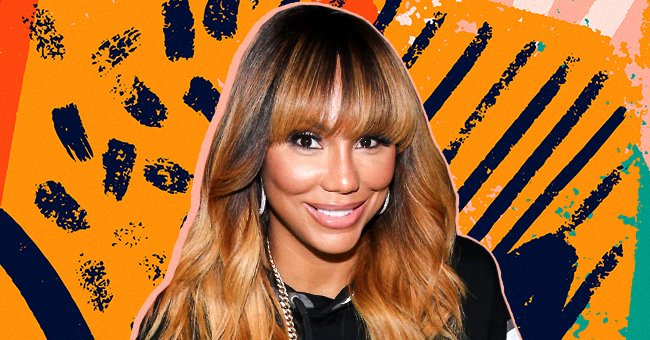 Tamar Braxton Flaunts Her Long Legs & Red Lips Posing in Revealing Outfits in New Photoshoot