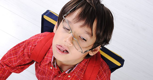 Daily Joke: A Boy at School Bullies Another Boy by Trashing His Glasses