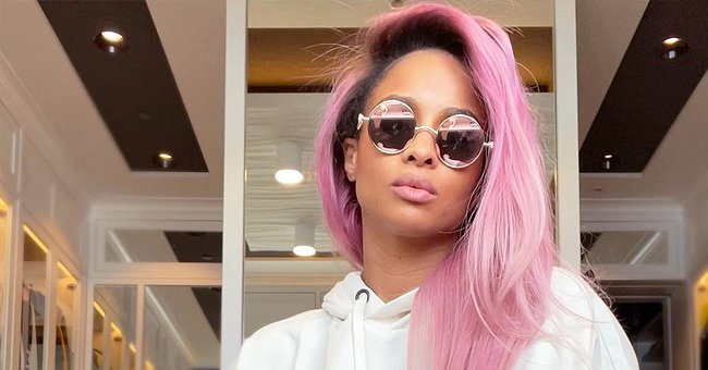 Ciara Debuts Pink Hair in a White Outfit and Fans Are in Love — See Reactions
