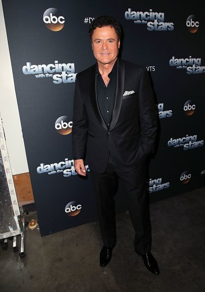 "Donny Osmond poses at ""Dancing with the Stars"" Season 27 at CBS Televison City 