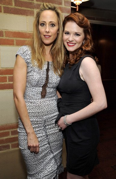 Kim Raver and Sarah Drew on March 18, 2012 in Los Angeles, California.   Photo: Getty Images
