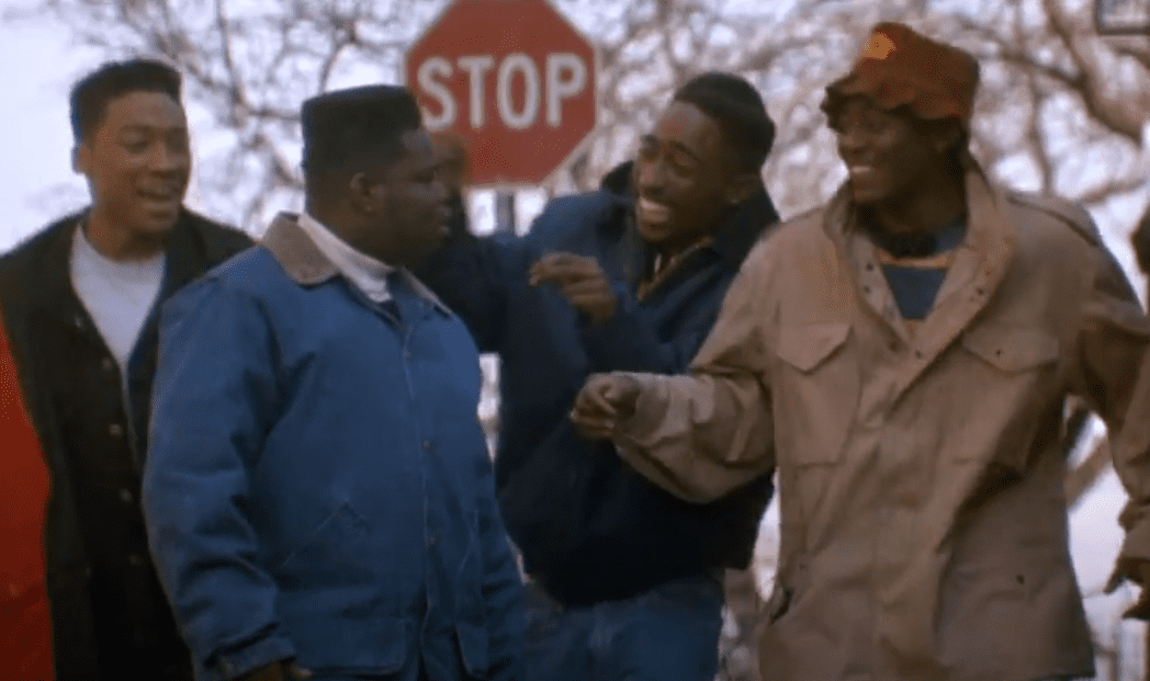 """Khalil Kain in a scene from the 1992 movie """"Juice""""   Photo: YouTube/ Paramount Movies"""