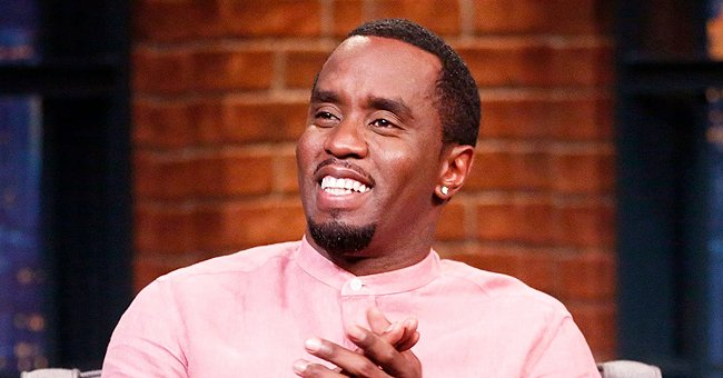 Diddy's Son Quincy Celebrates Great-Grandmother's 90th Birthday with His Dad & Sisters (Photos)