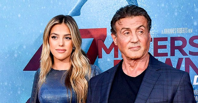 """Sylvester Stallone Shares Photo with Daughter Sistine on the Set of His New Film """"Samaritan"""""""