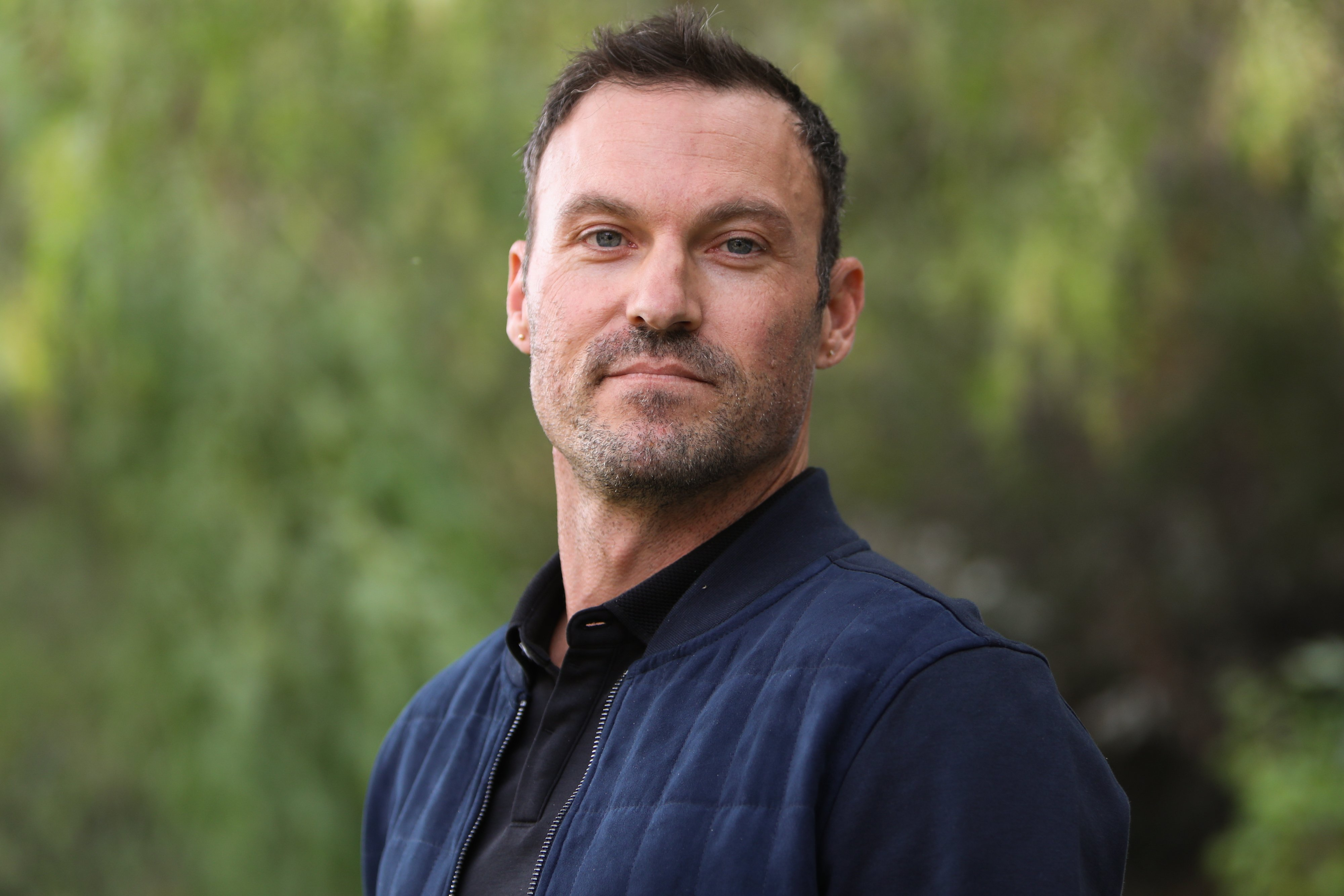 """Brian Austin Green visits Hallmark Channel's """"Home & Family"""" at Universal Studios Hollywood on November 15, 2019 in Universal City, California 