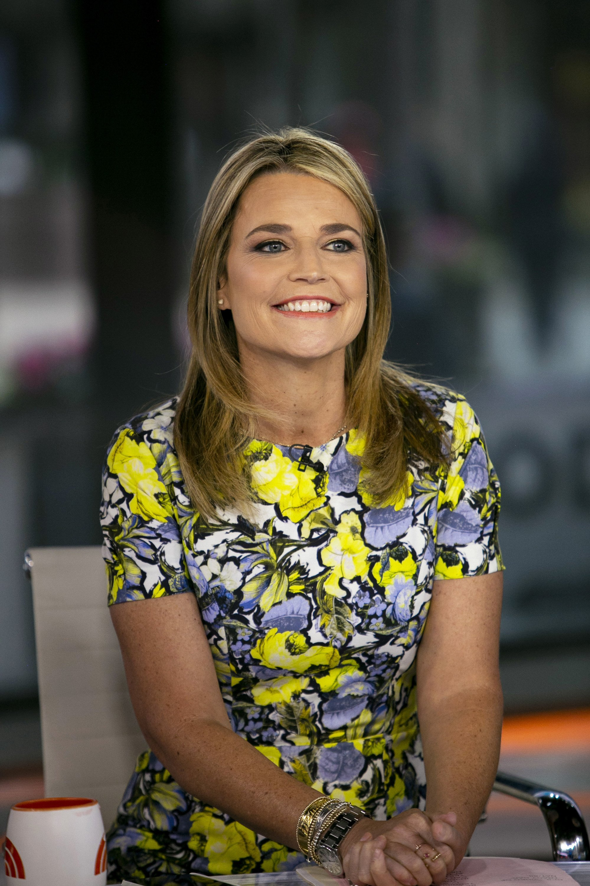 """Savannah Guthrie on the """"Today"""" show in 2019.   Photo: Getty Images"""