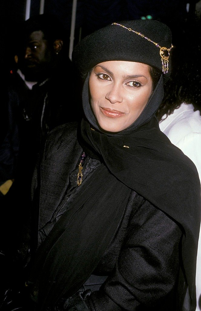 """Singer Vanity attends the premiere of """"Action Jackson"""" on February 11, 1988  