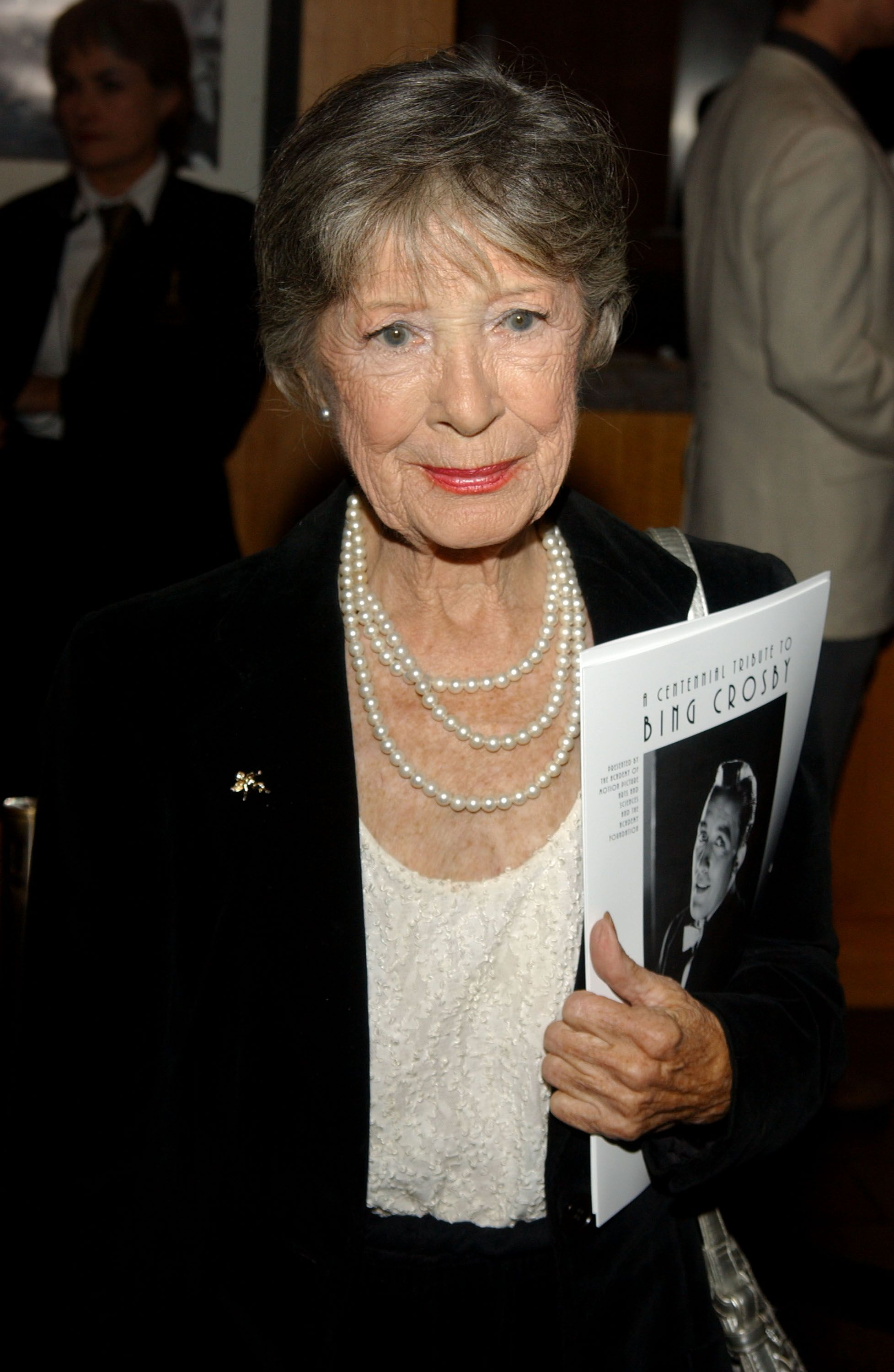 Edith Fellows at the Academy of Motion Picture Arts and Sciences' Centennial Tribute to Bing Crosby on November 21, 2003 | Photo: Getty Images