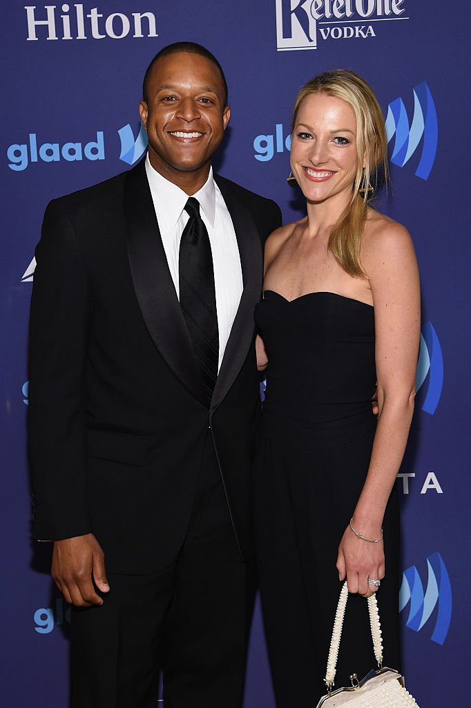 Craig Melvin and Lindsay Czarniak at the 26th Annual GLAAD Media Awards on May 9, 2015.   Source: Getty Images.