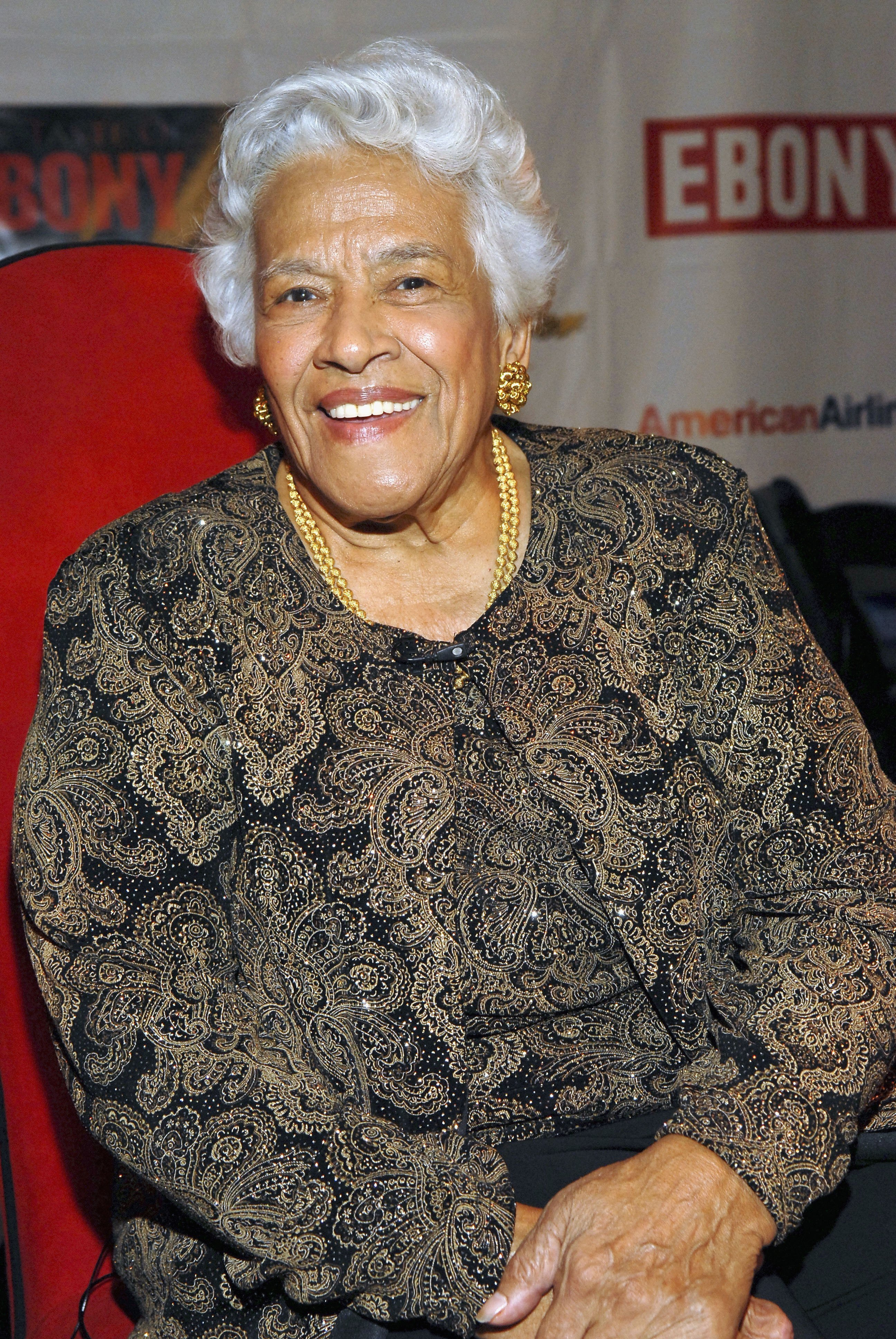 Leah Chase at the Taste Of Ebony at the Metropolitan Pavilio in New York City | Photo: Getty Images