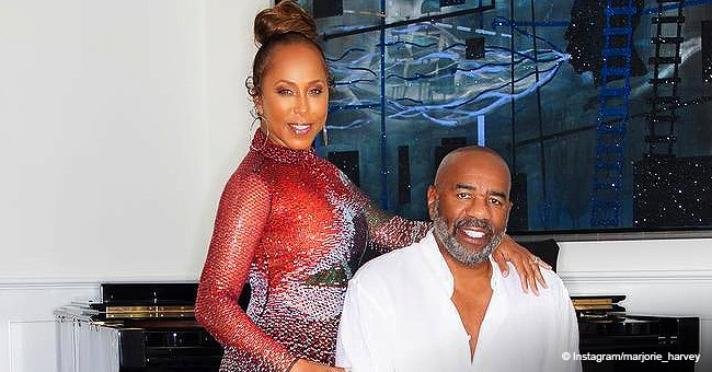 Steve Harvey's wife stole hearts with photos of their curly-haired grandson in a cute outfit