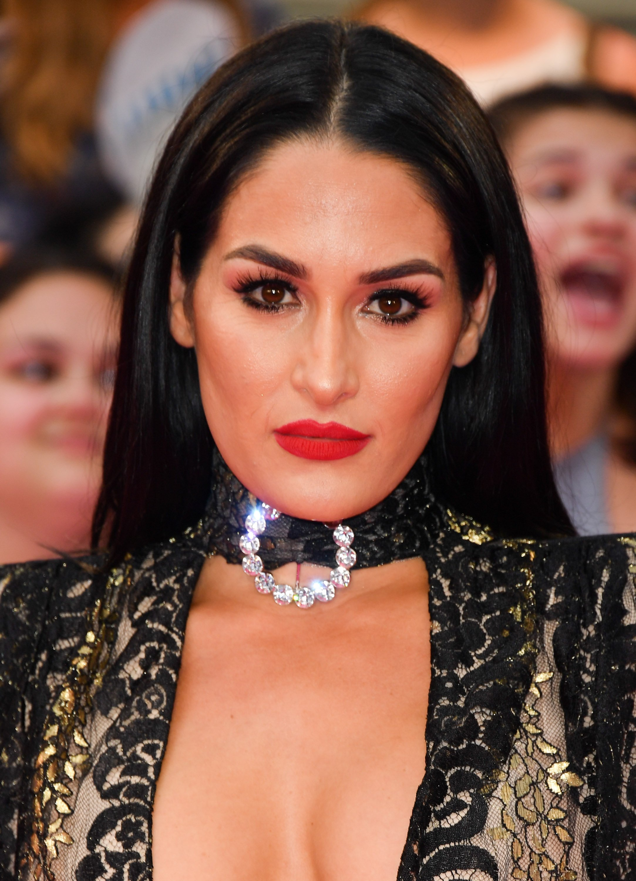 Nikki Bella at the iHeartRADIO MuchMusic Video Awards at MuchMusic HQ on June 18, 2017 in Toronto, Canada. | Source: Getty Images