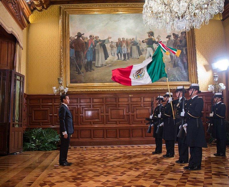 Ceremonia del Grito de Independencia de México.| Fuente: Flickr