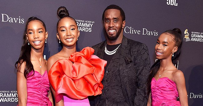 Diddy's 3 Daughters Practice Yoga in Photos – See Their Flexibility While Bending over Backwards