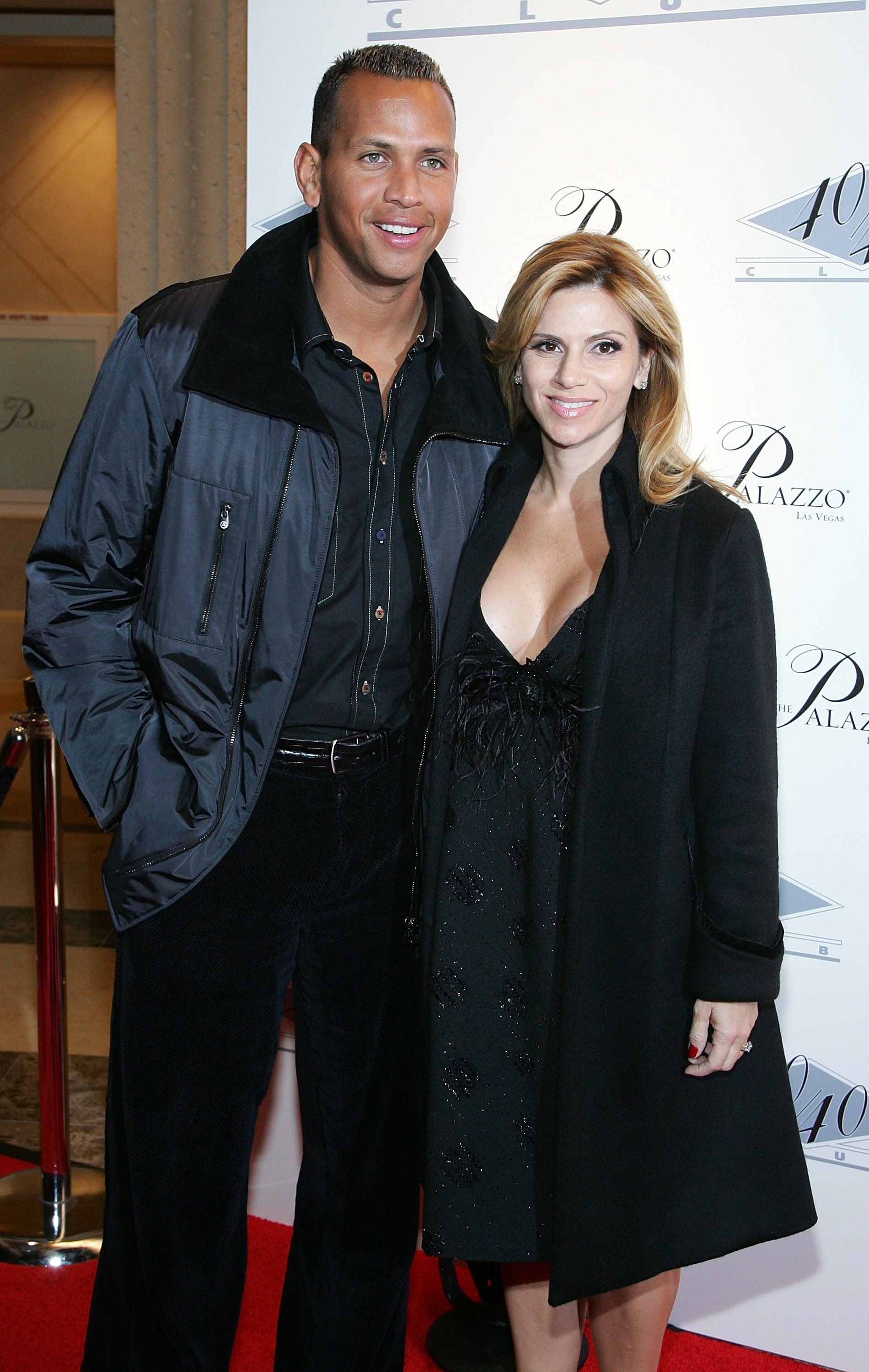Alex Rodriguez and Cynthia Scurtis on December 30, 2007 in Las Vegas, Nevada | Source: Getty Images