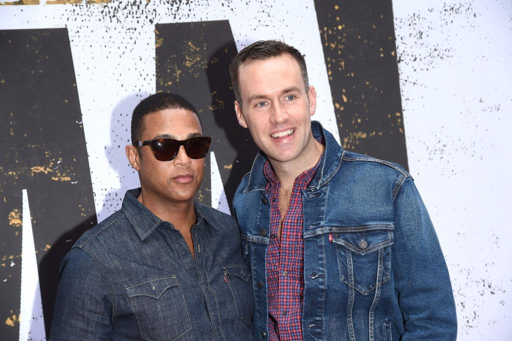 Don Lemon and Tim Malone attend the Broadway opening night of 'Oklahoma' in NYC | Source: Getty Images