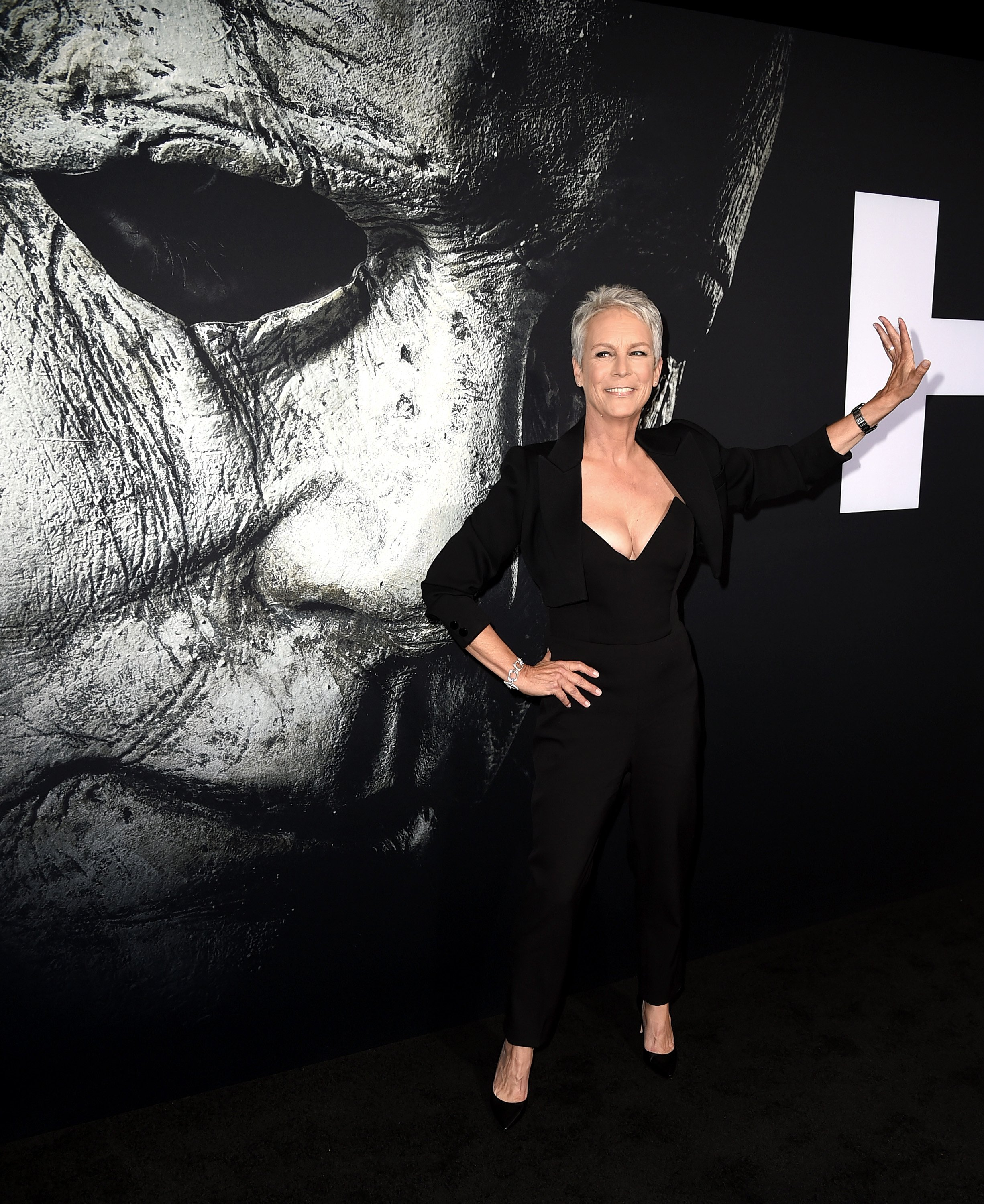 "Jamie Lee Curtis at a ""Halloween"" movie event 