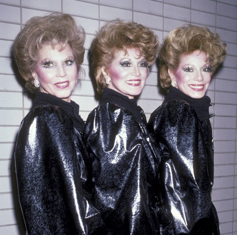 The McGuire Sisters on November 3, 1985 at Lincoln Center in New York City   Photo: Getty Images