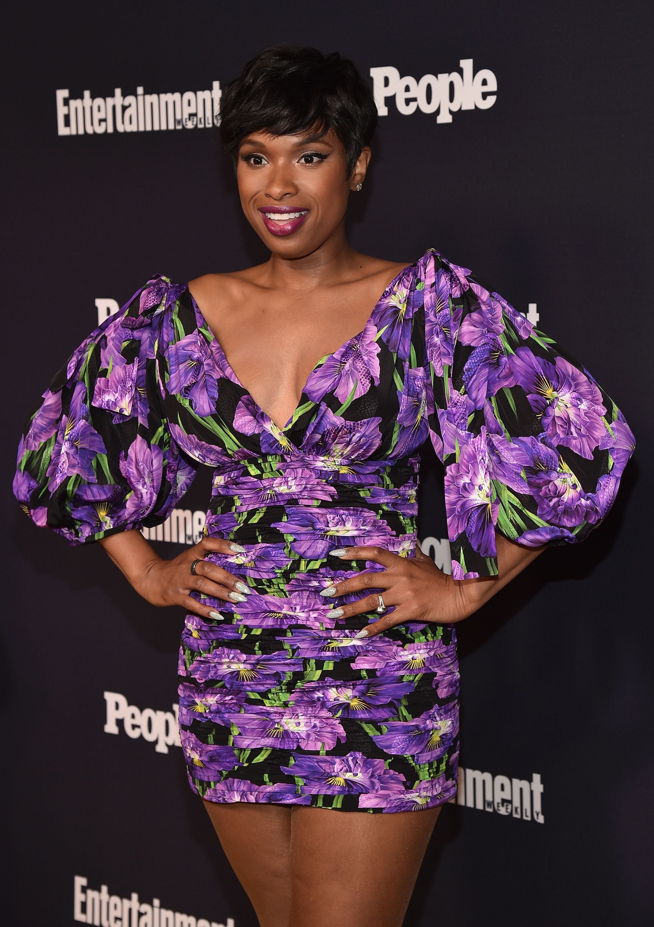 Jennifer Hudson at the Entertainment Weekly and PEOPLE Upfronts party presented by Netflix and Terra Chips at Second Floor on May 15, 2017 in New York City | Photo: Getty Images