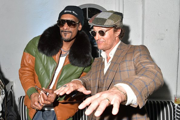 Snoop Dogg and Matthew McConaughey attend the after party of Neon And Vice Studio's 'The Beach Bum' at ArcLight Hollywood | Photo: Getty Images