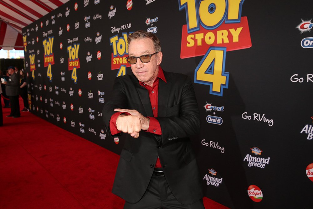 Tim Allen attending the world premiere of TOY STORY 4 in Hollywood, California, in June 2019. I Image: Getty Images.