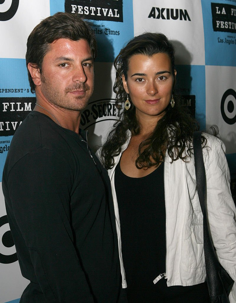 Diego Serrano and Cote De Pablo at the 2007 Los Angeles Film Festival | Photo: GettyImages