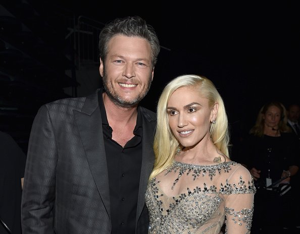 Blake Shelton and Gwen Stefani at T-Mobile Arena on May 22, 2016 in Las Vegas, Nevada | Photo: Getty Images
