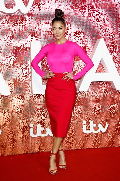 Nicole Scherzinger arriving at the ITV Gala held at the London Palladium on November 9, 2017, in London, England. | Source: Getty Images.