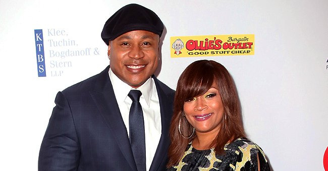 LL Cool J's Wife Simone Smith Poses in Camouflage Pants and Matching Turban